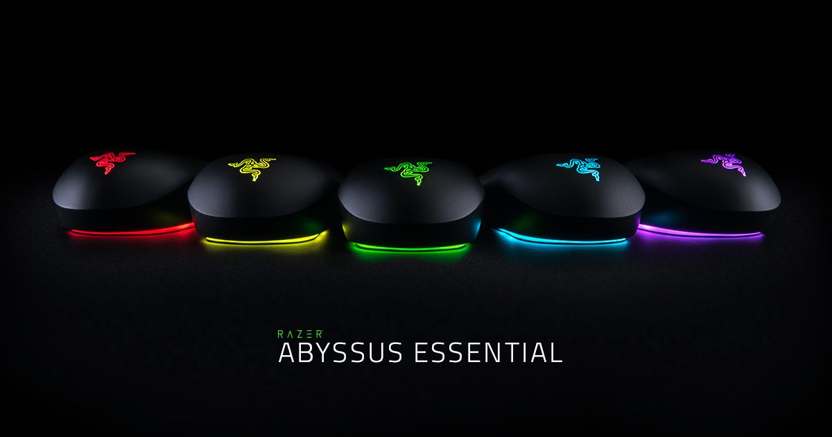 Ambidextrous Optical Gaming Mouse Razer Abyssus Essential
