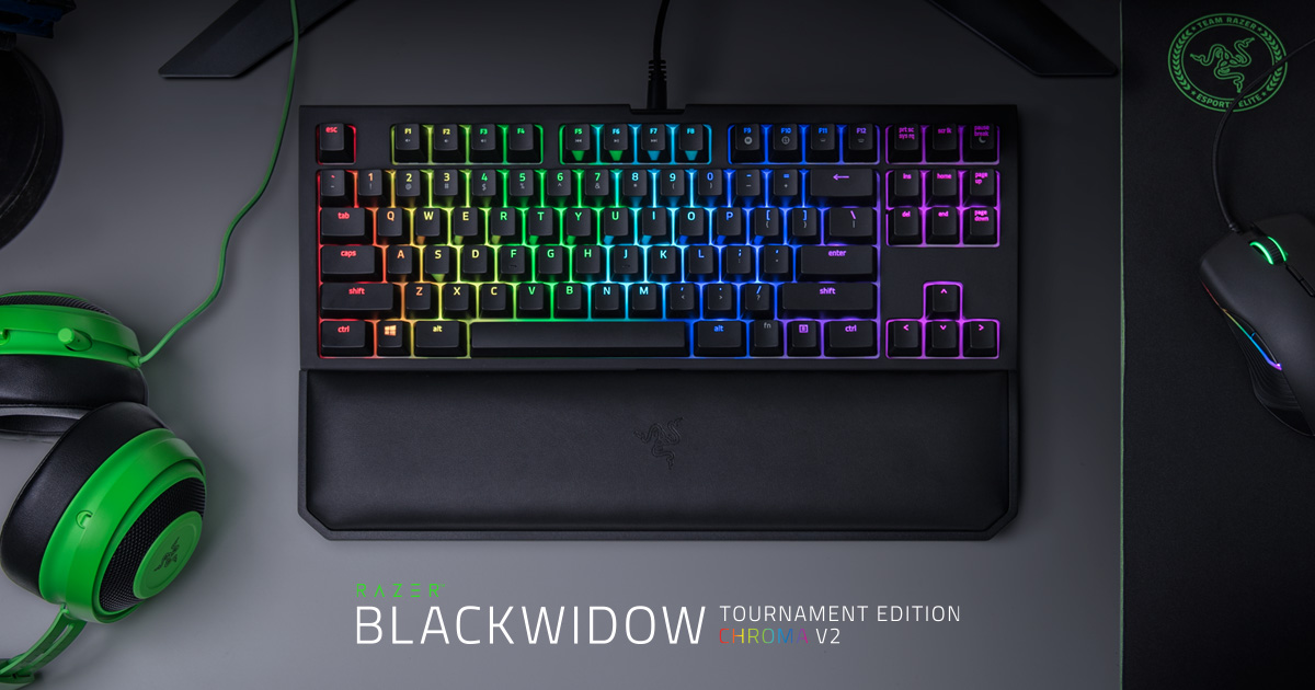 Hasil gambar untuk Razer BlackWidow Tournament Edition Chroma V2