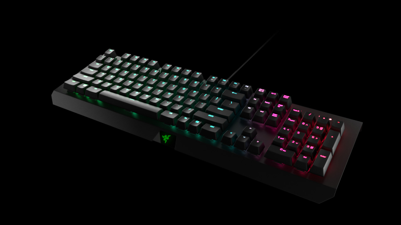 Razer BlackWidow X Tournament Edition Chroma - Gaming Keyboard