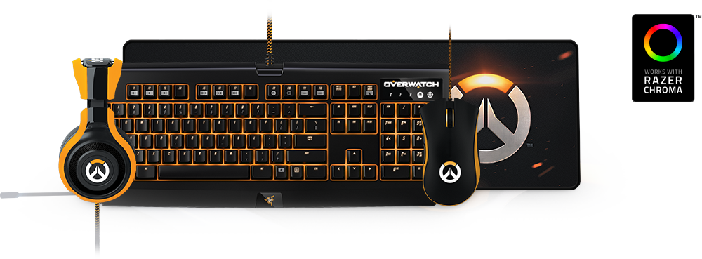 c4ed4eedc83 Overwatch took the world by storm, and is an excellent testament to how  Razer Chroma can enhance gameplay by adding a new dimension of immersion.