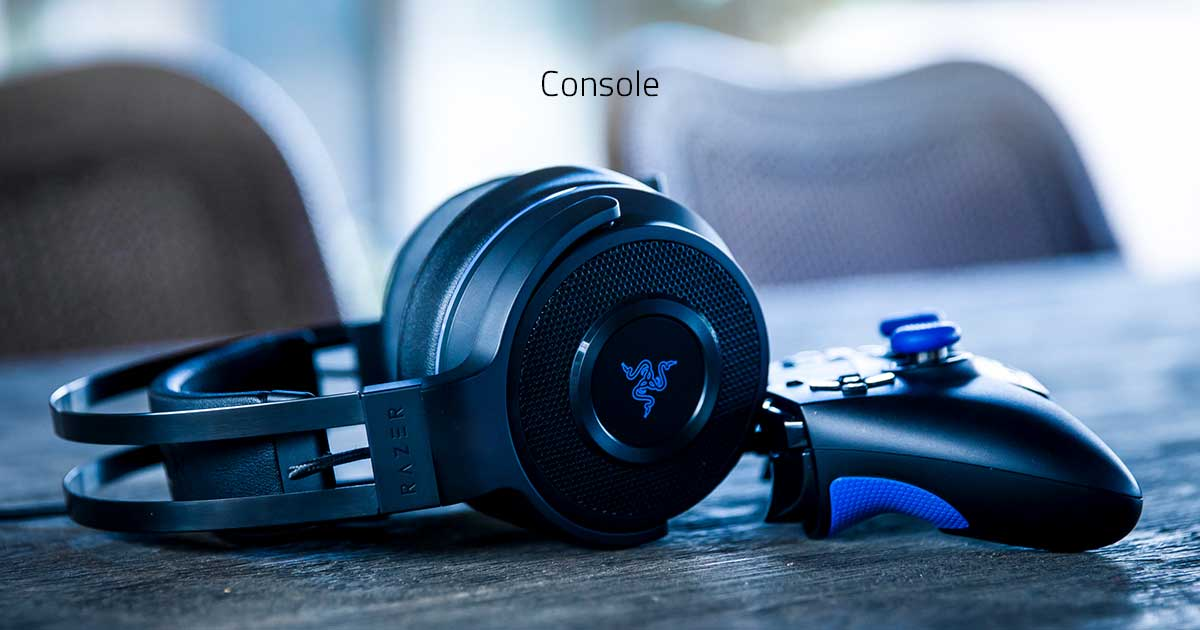 Razer Gaming Controllers and Headsets: PS4 Controller, Xbox