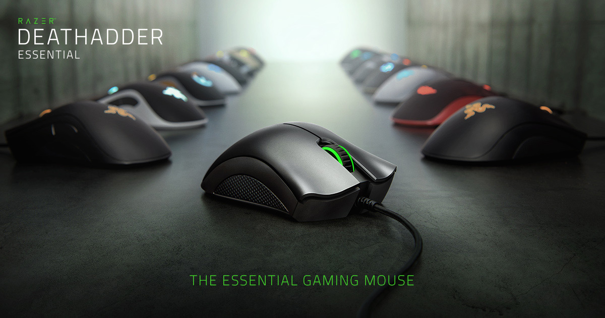 Right Handed Gaming Mouse - Razer DeathAdder Essential