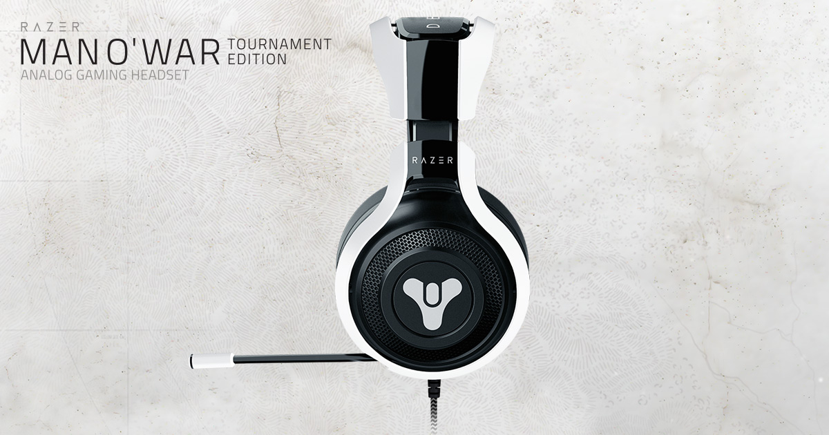 Destiny 2 Gaming Headset - Razer ManO War Tournament Edition b4938b45ca37