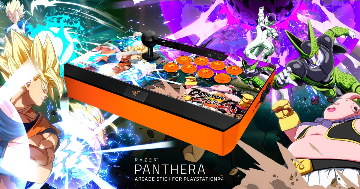 Arcade Stick For Playstation 4 Dragon Ball Fighterz Razer Panthera