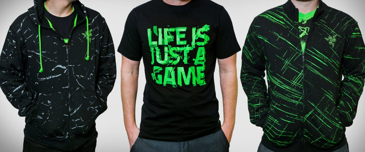 Razer Gaming Gear: T-Shirts, Polo Tees, Hoodies, Caps, Bags and ...