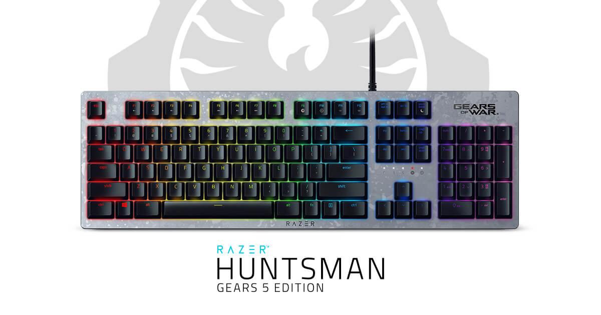 Kết quả hình ảnh cho Razer Huntsman Gears 5 Edition