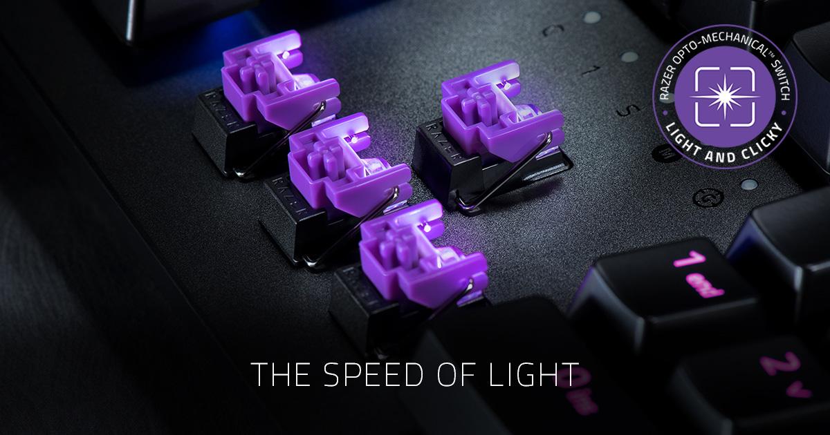 Razer Keyboard Switch - The All New Razer Opto-Mechanical