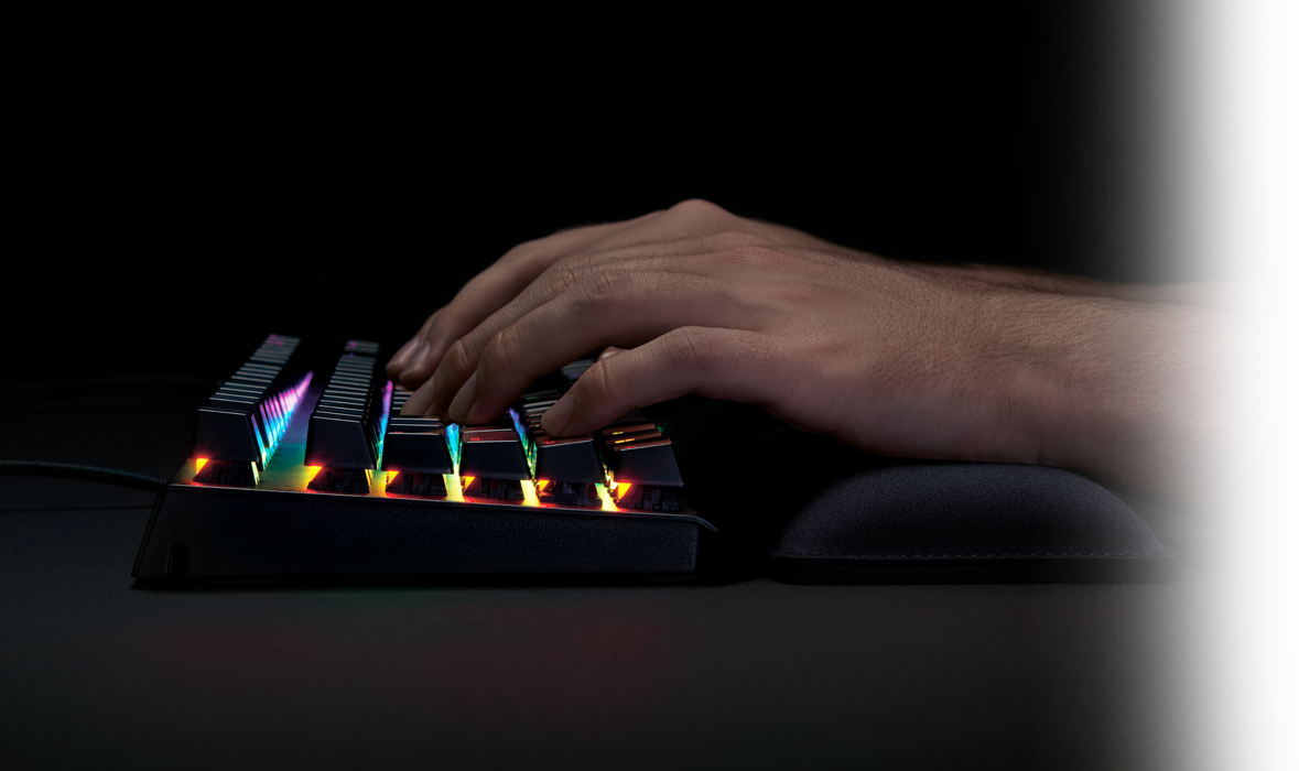 Razer Ergonomic Keyboard Rest Gaming Accessories