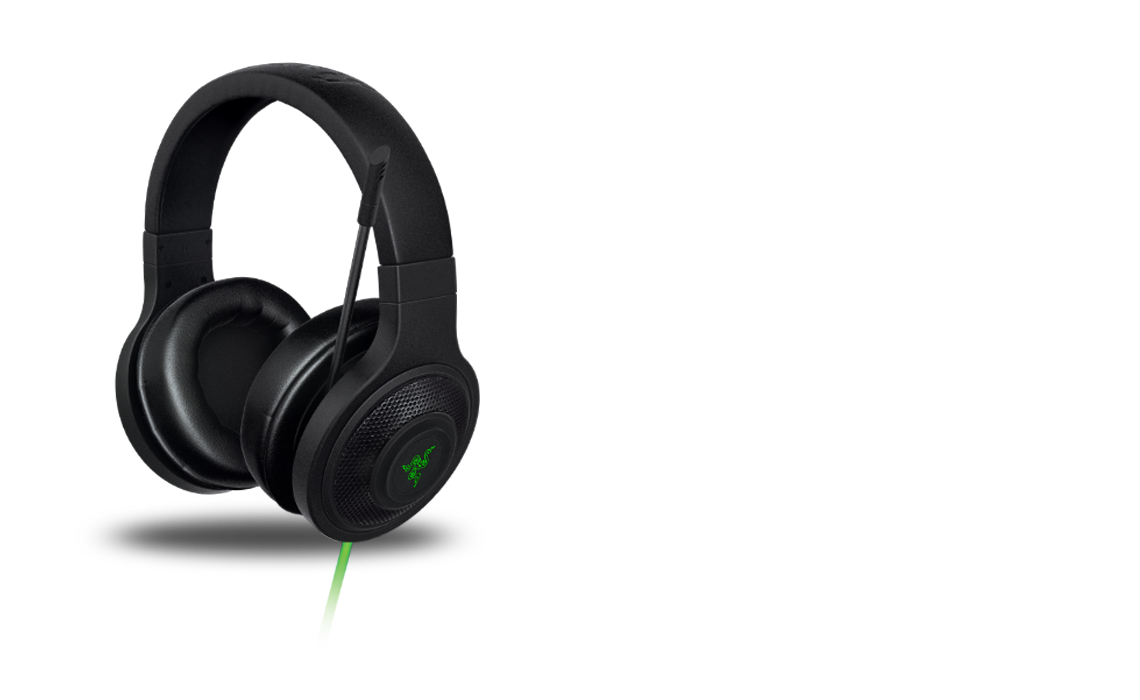 Razer Kraken Gaming Headset For Xbox One Wiring Diagram Surround Sound Unidirectional Analog Microphone Crystal Clear Audio Reproduction