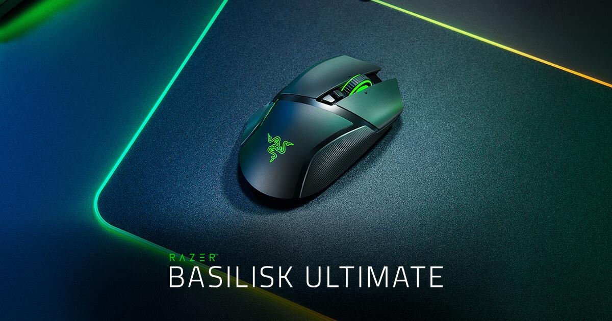 ワイヤレスゲーミングマウス - Razer Basilisk Ultimate