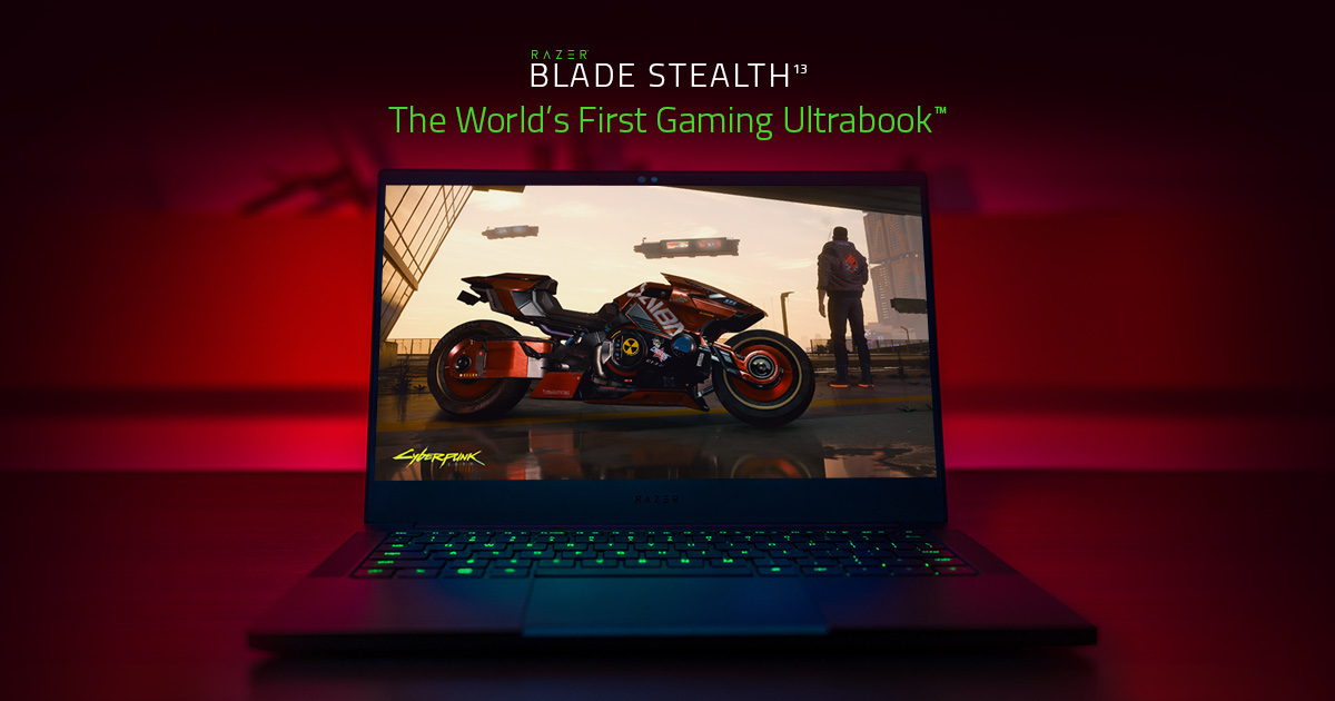 The World's First Gaming Ultrabook - Razer Blade Stealth 13
