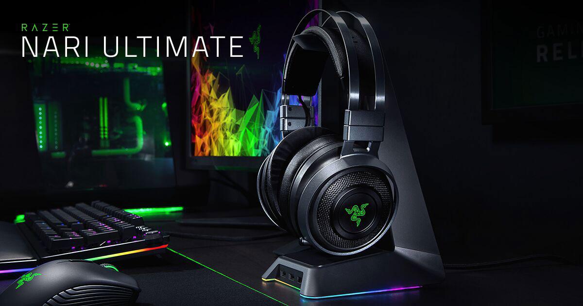 Wireless PC Gaming Headset - Razer Nari Ultimate c9f42680a4