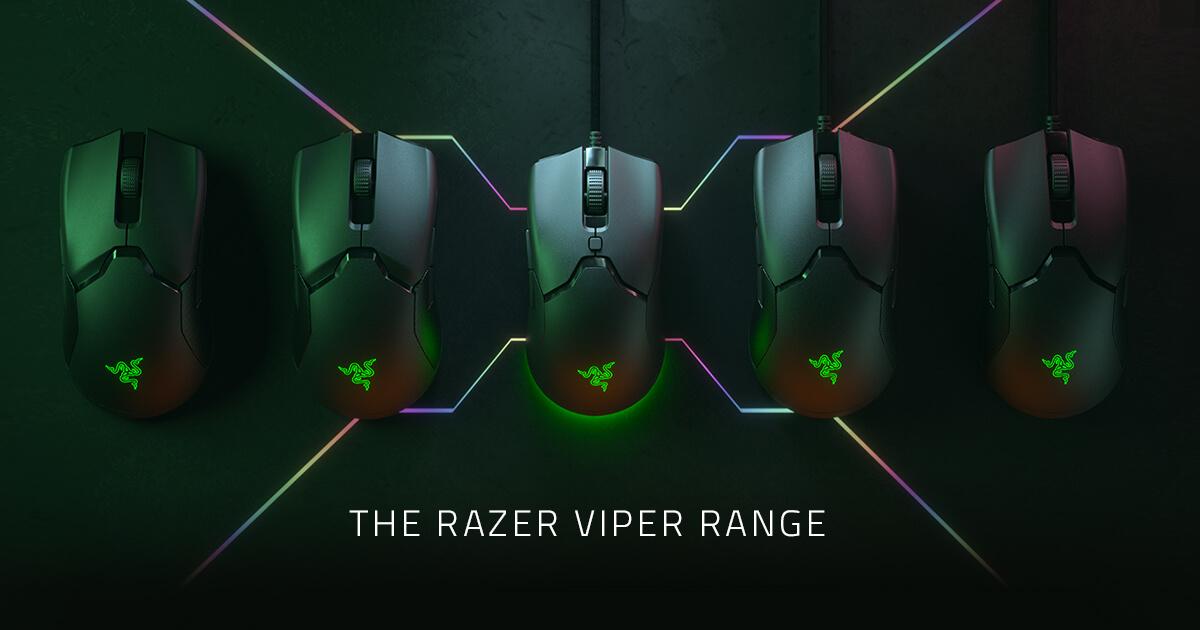 The Razer Viper Range - Ambidextrous Gaming Mouse   Razer United States