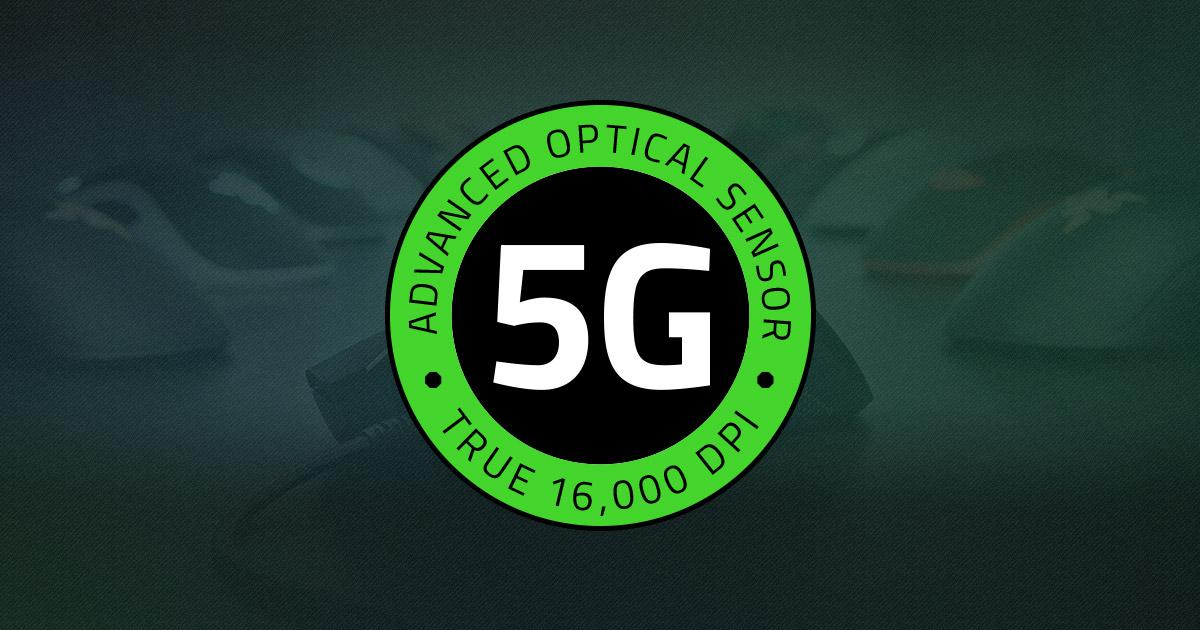 Razer 5G Advanced Optical Mouse Sensor | Razer United States