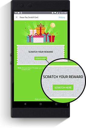 Scratch the e-coupon