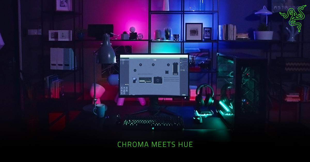 Rgb Backlight For Gaming Systems Razer Chroma And Philips Hue