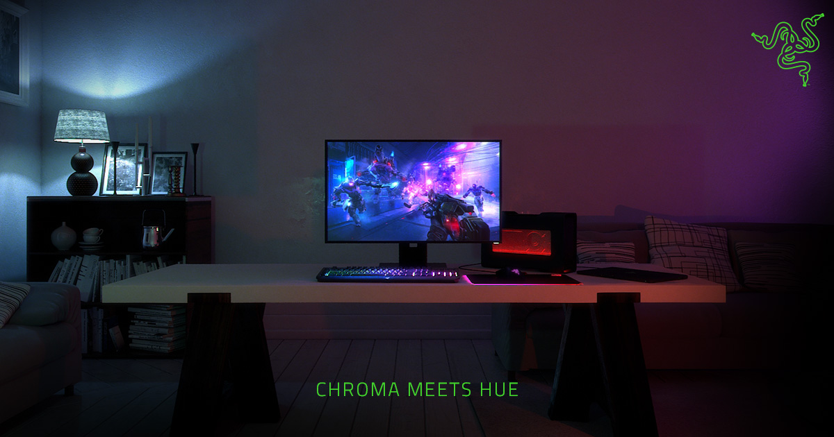 Rgb Backlight For Gaming Systems Razer Chroma And Philips Hue Razer