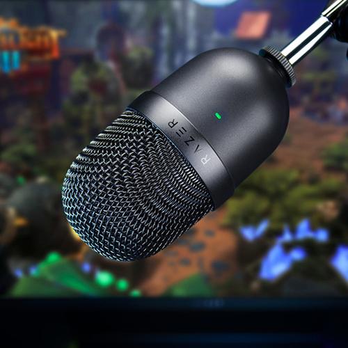 Razer Seiren Mini Ultra-compact Streaming Microphone - Quartz 13