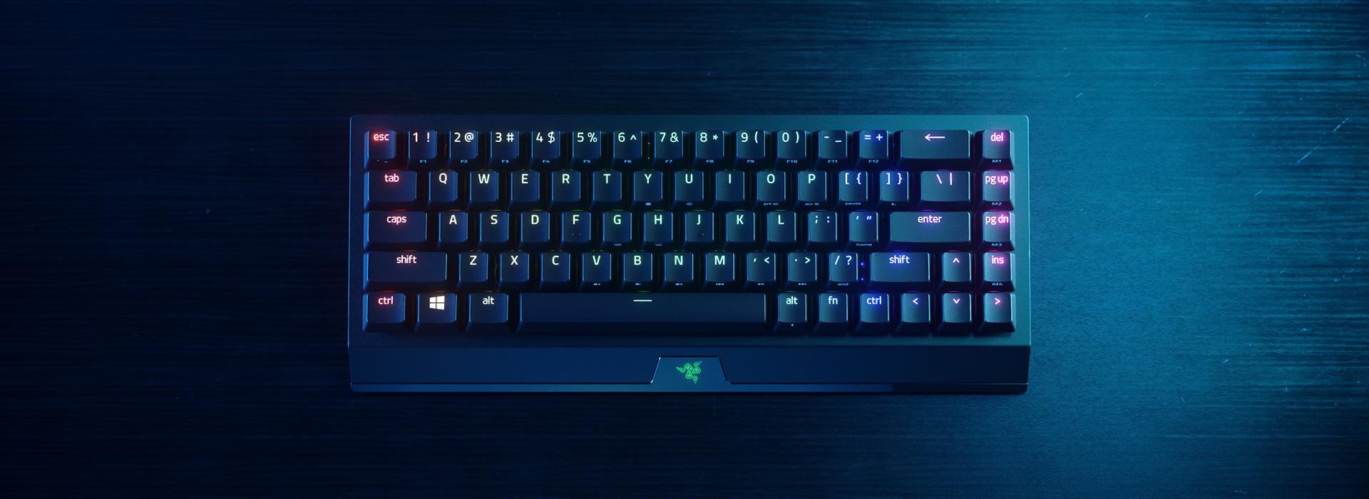 El legendario teclado evoluciona con el Blackwidow V3 Mini Hyperspeed