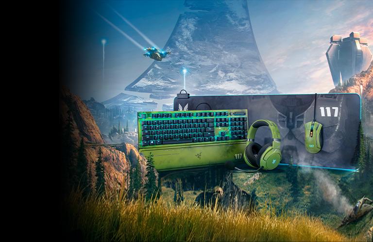 Conviértete en The Master Chief con cuatro periféricos personalizados de Razer, con licencia de Halo Infinite