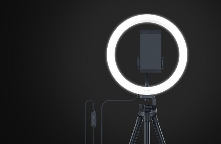Ring Light Razer para Computador e Celular
