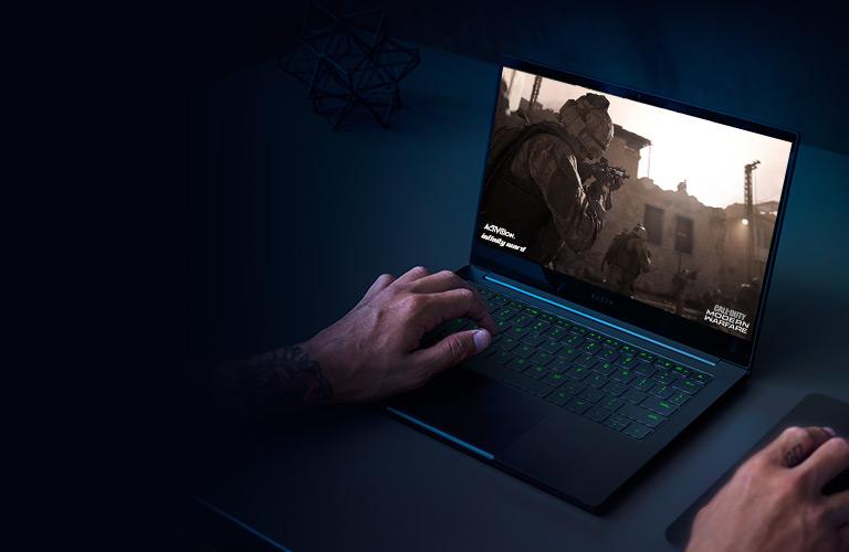 Razer Blade Stealth 13 Ultrabook Gaming Laptop: Intel Core i7-1065G7 4 Core, NVIDIA GeForce GTX 1650 Ti Max-Q, 13.3