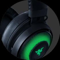 Razer Kraken Kitty Ear USB Headset with Chroma - Black 13