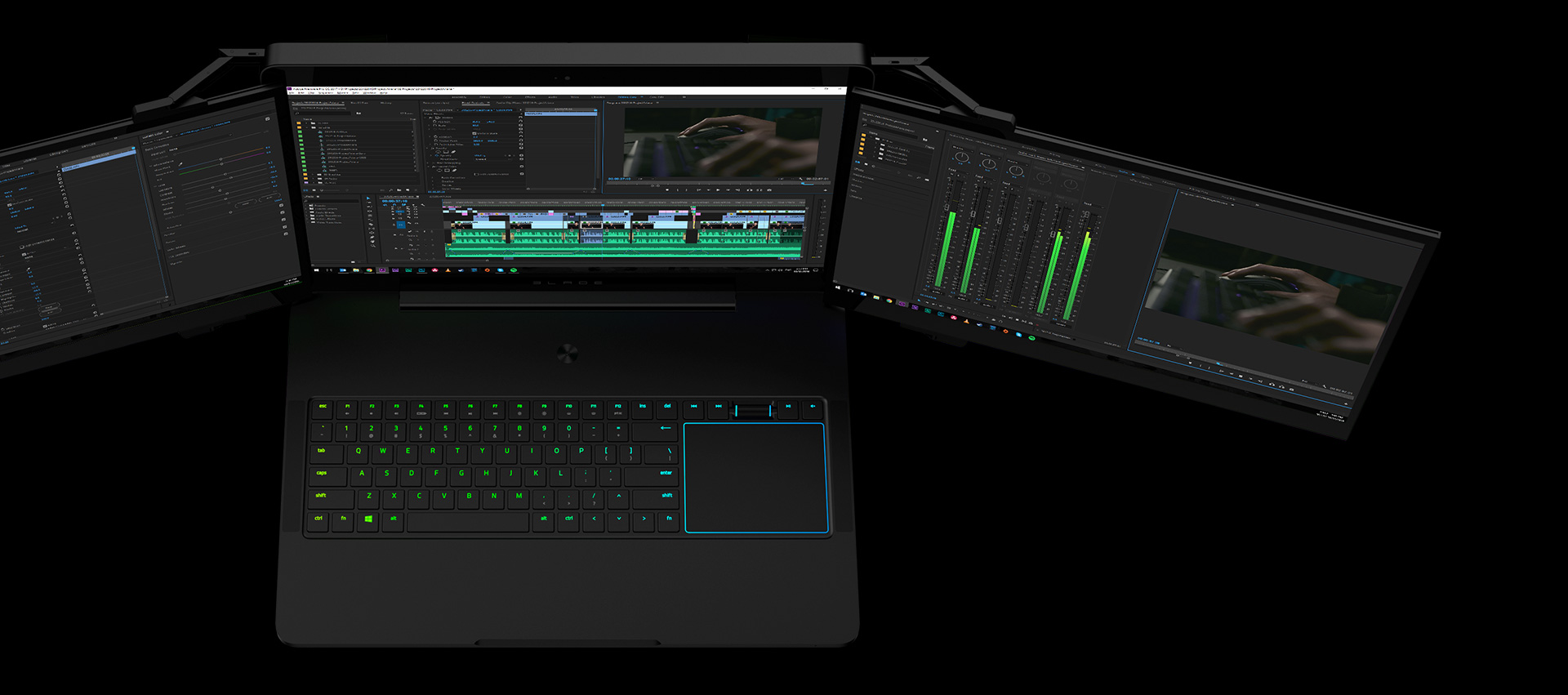 Razer Project Valerie - Triple Display Laptop | Razer United States