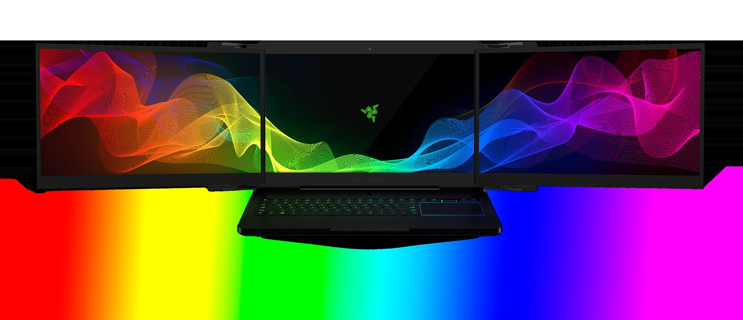 מדהים Razer Project Valerie - Triple Display Laptop | Razer United Kingdom BD-07