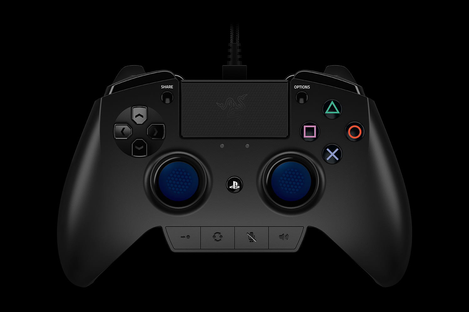 Game Controllers For Ps4 : Razer raiju gaming controller for ps