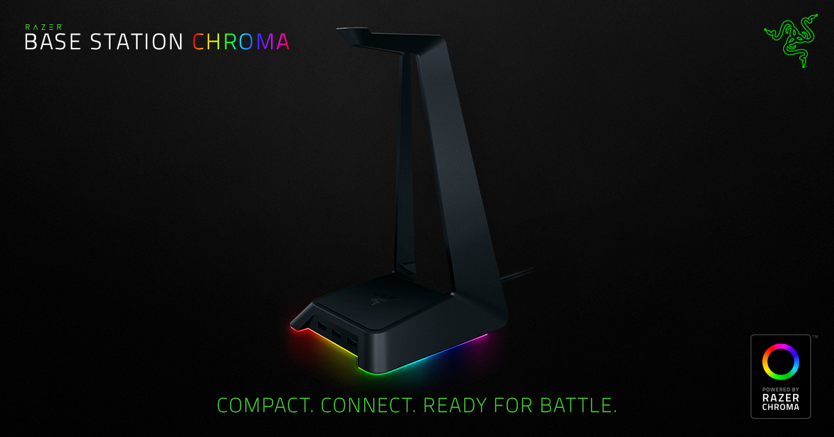 Razer Base Station Chroma - Headset Stand 40e05116573c
