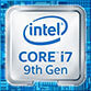 Intel core i7 9th Gen