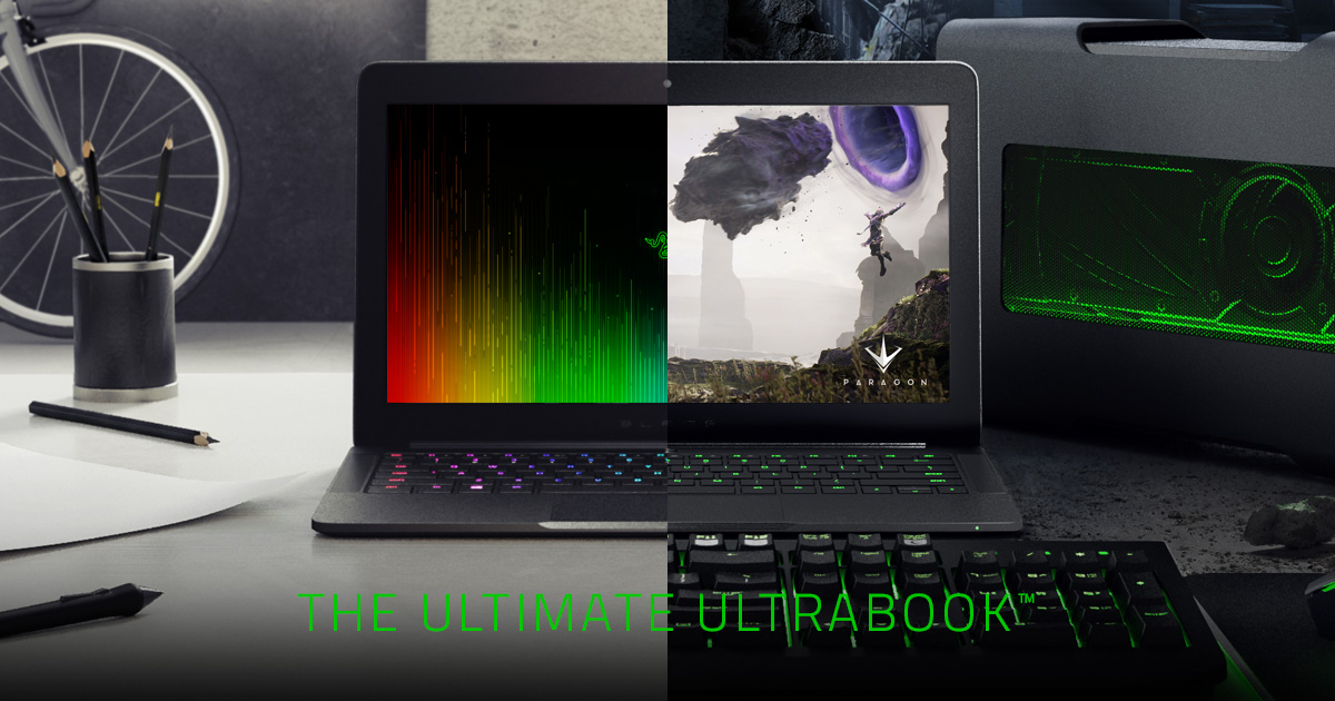 The New Razer Blade Stealth - Fast Performance Ultrabook