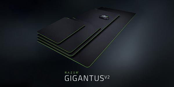Razer lanza los mousepad Gigantus V2