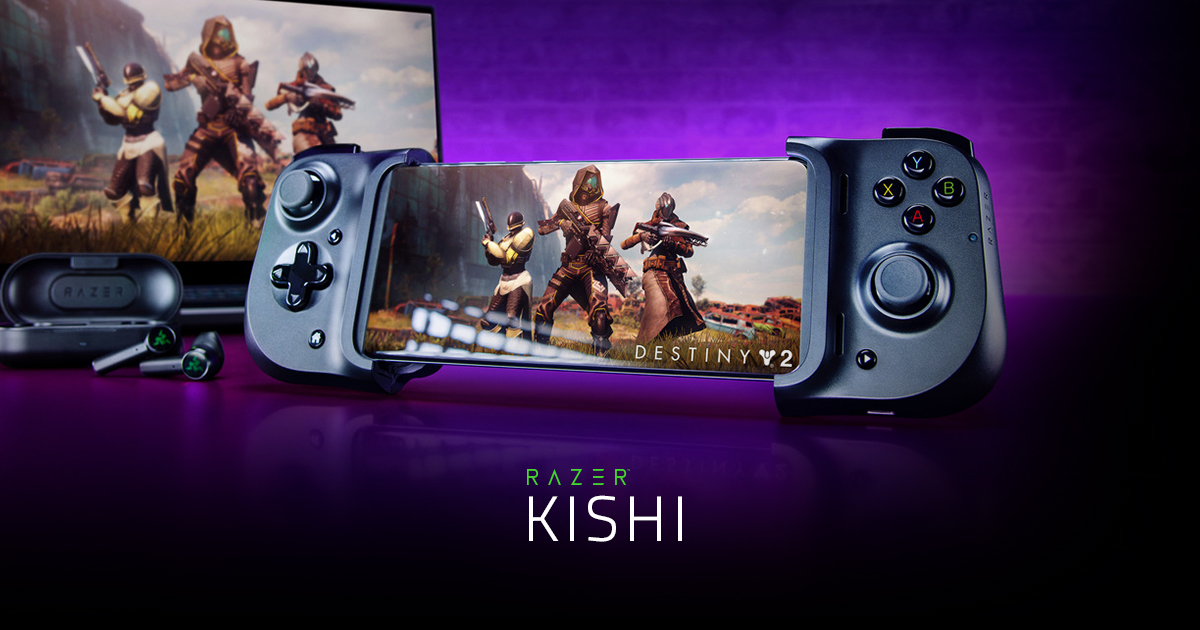 Universal Gaming Controller for IOS and Android- Razer Kishi