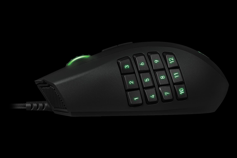razer naga gaming mouse ergonomic mmo gaming mouse