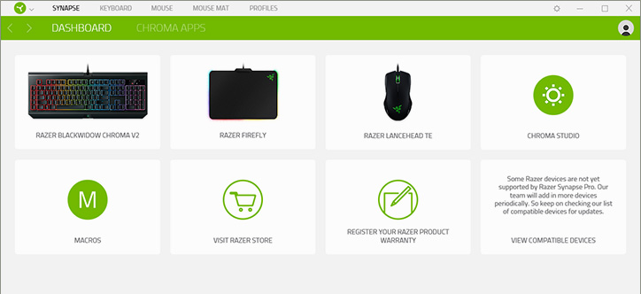 Razer Synapse 3 - Cloud-Based Hardware Configuration Tool | Razer