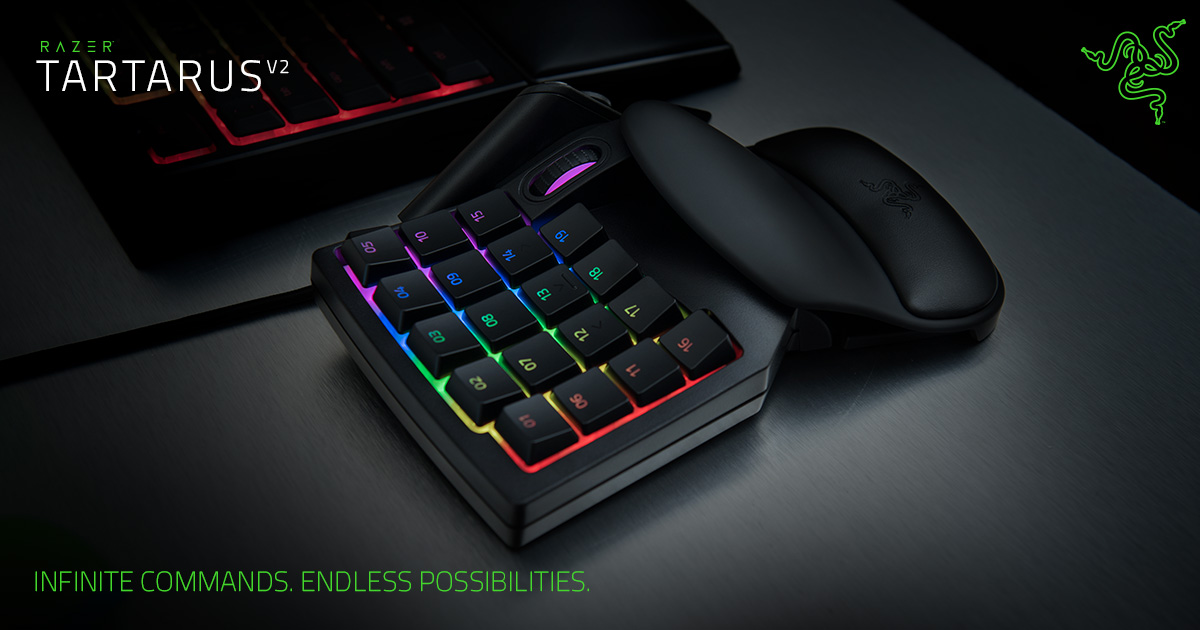 421b17be5de Chroma Gaming Keypad - Razer Tartarus V2