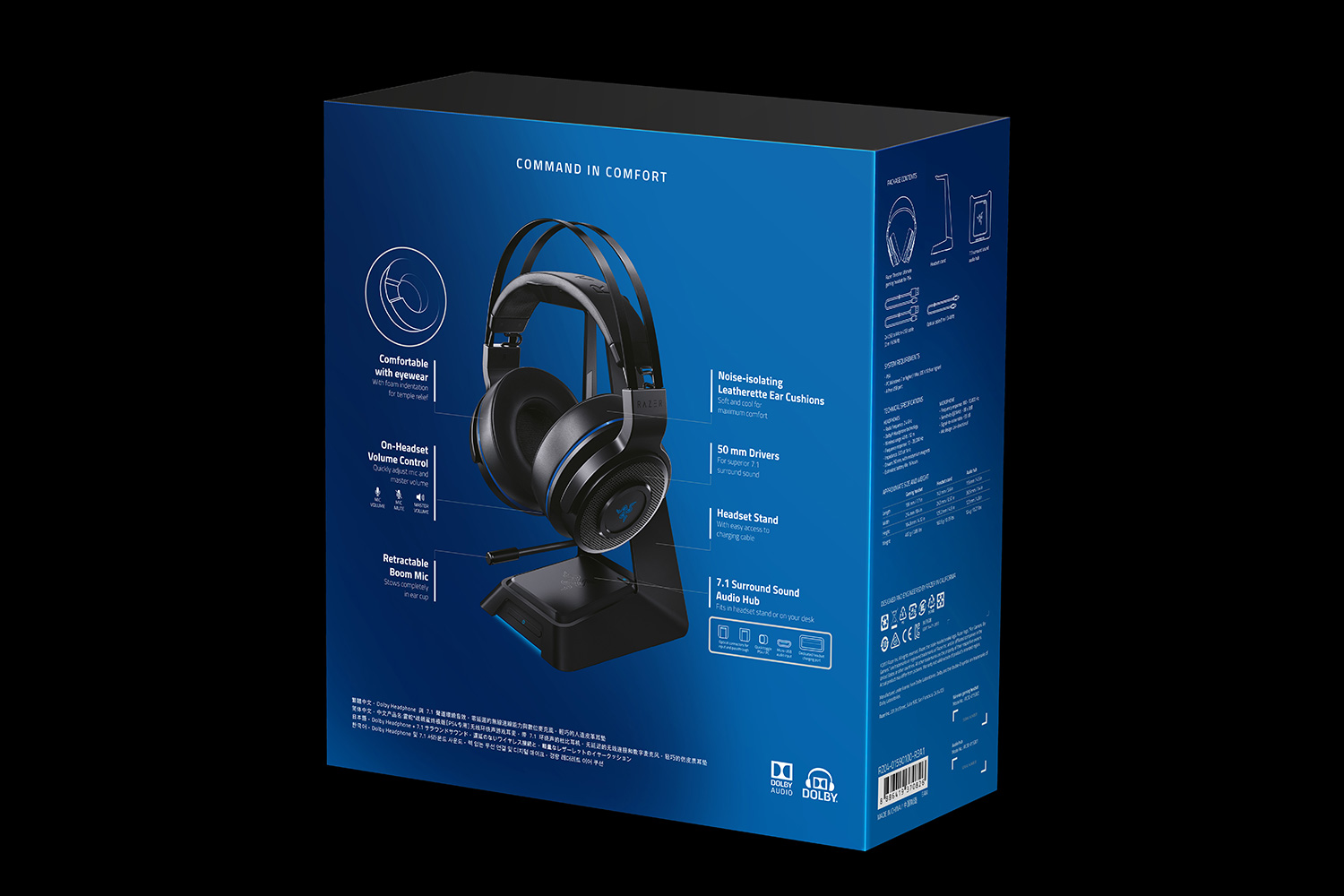 razer thresher ultimate for ps4 wireless gaming headset. Black Bedroom Furniture Sets. Home Design Ideas