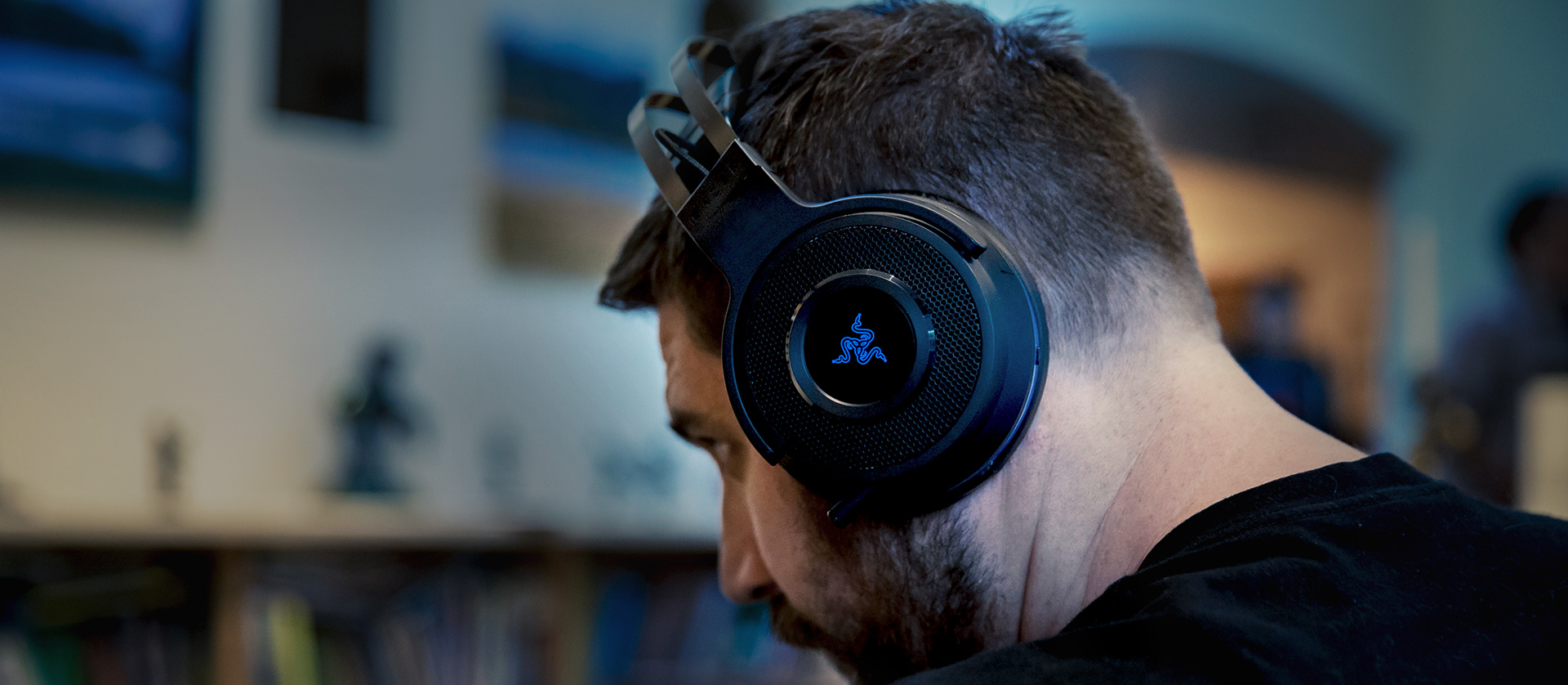 Razer Thresher Ultimate For Playstation 4 Gaming Headset Hammerhead Bt Bluetooth Wireless Premium Earphone Headphone Introducing The With Dolby Digital And Technology Ps4